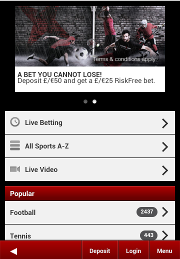 bet mobile at betsafe