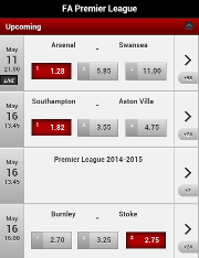 Betsafe mobile app premier league games