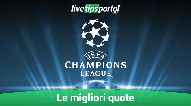 Vincente Champions 2015/2016: le migliori quote