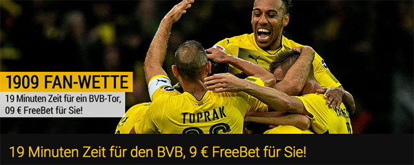 Bwin Dortmund Freebet