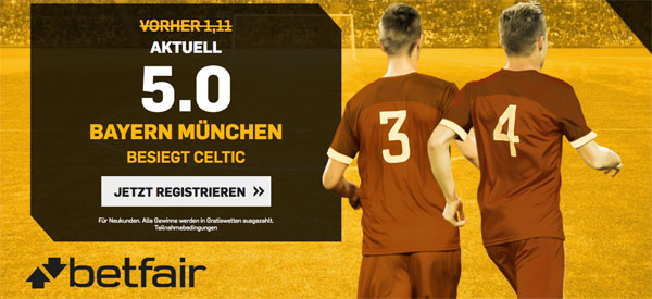 Quotenboost Betfair CL