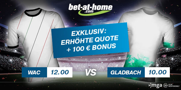 wac gladbach wette bet at home