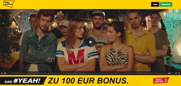 100 Euro Interwetten Neukundenbonus