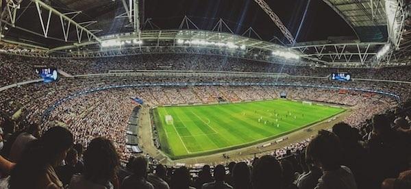 stadion tribüne stock image