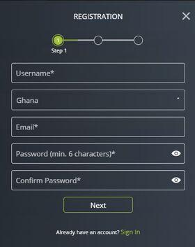 Registartion Betboro Ghana
