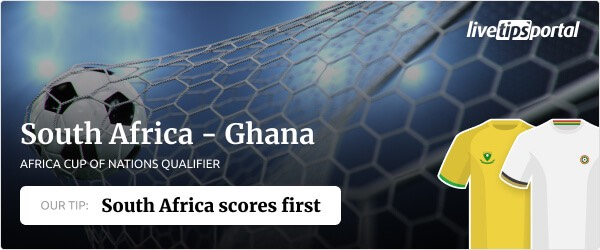 AFCON Quali South Africa against Ghana betting tip