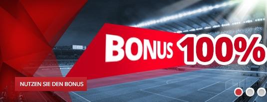 Tipwin 100 Prozent Sportwetten Bonus