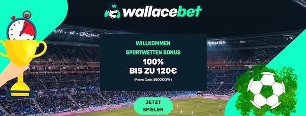 Exklusiver 120 Euro Wallacebet Bonus