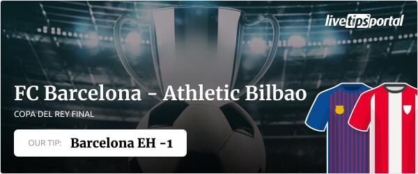 Copa del Rey final betting tip for Barcelona vs Bilbao