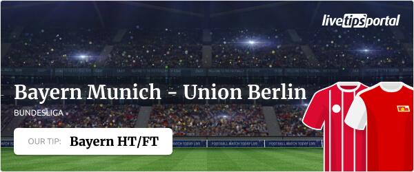 Bundesliga betting tip FC Bayern - Union Berlin