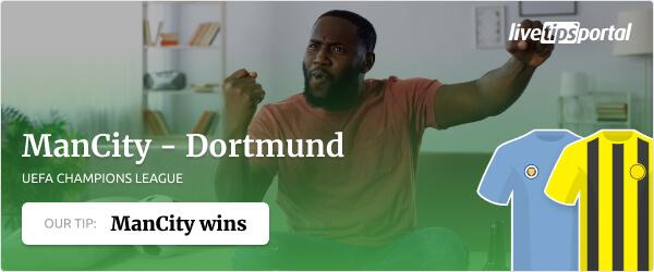 Manchester City vs Dortmund betting tip