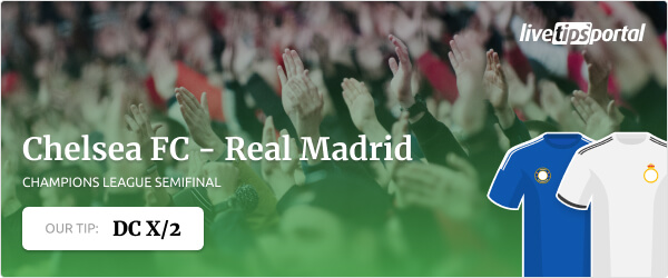 Champions League betting tip for Chelsea vs Real Madrid