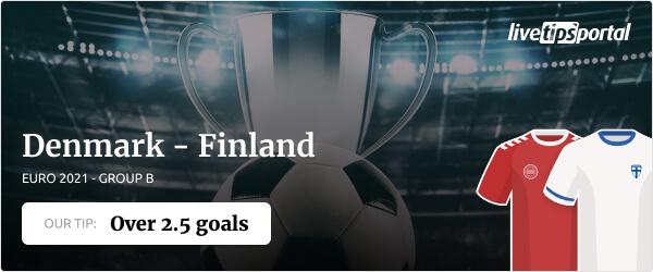 EURO betting tip Denmark vs Finland