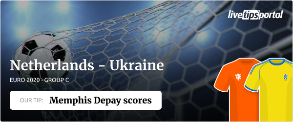 Netherlands vs Ukraine EURO 2020 betting tip