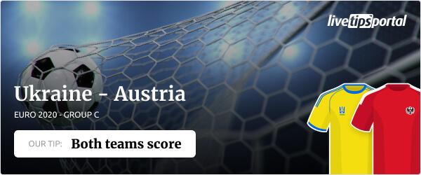Ukraine vs Austria EURO 2020 betting tip