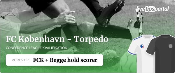 FC København - Torpedo BelAZ odds tip