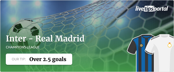 Champions League betting tip for Inter vs Real Madrid