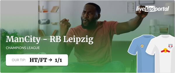 ManCity vs Leipzig Champions League betting tip 2021