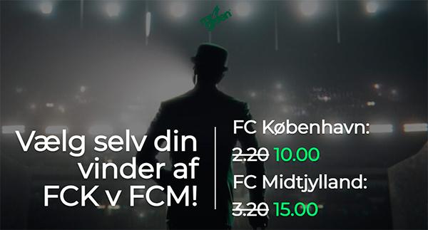 FCK - FCM fodbold odds Mr Green bonus
