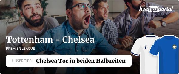Tottenham Hotspur vs Chelsea Premier League 2021/22 Wett Tipp